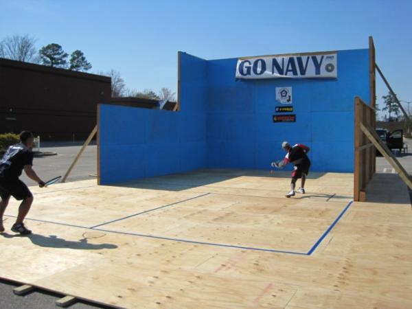Viewing album 2010 outdoor racquetball in clayton for Build a racquetball court